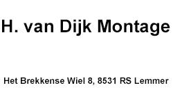 H. van Dijk Montage