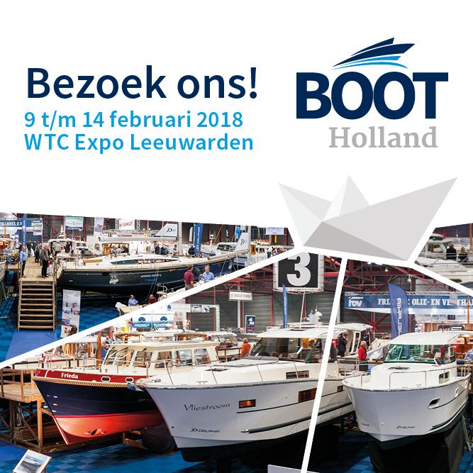 It Huzumer Skûtsje op Boot Holland van 9 t/m 14 februari