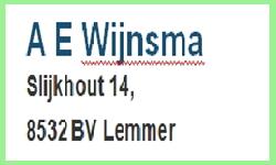 A.E. Wijnsma, Lemmer