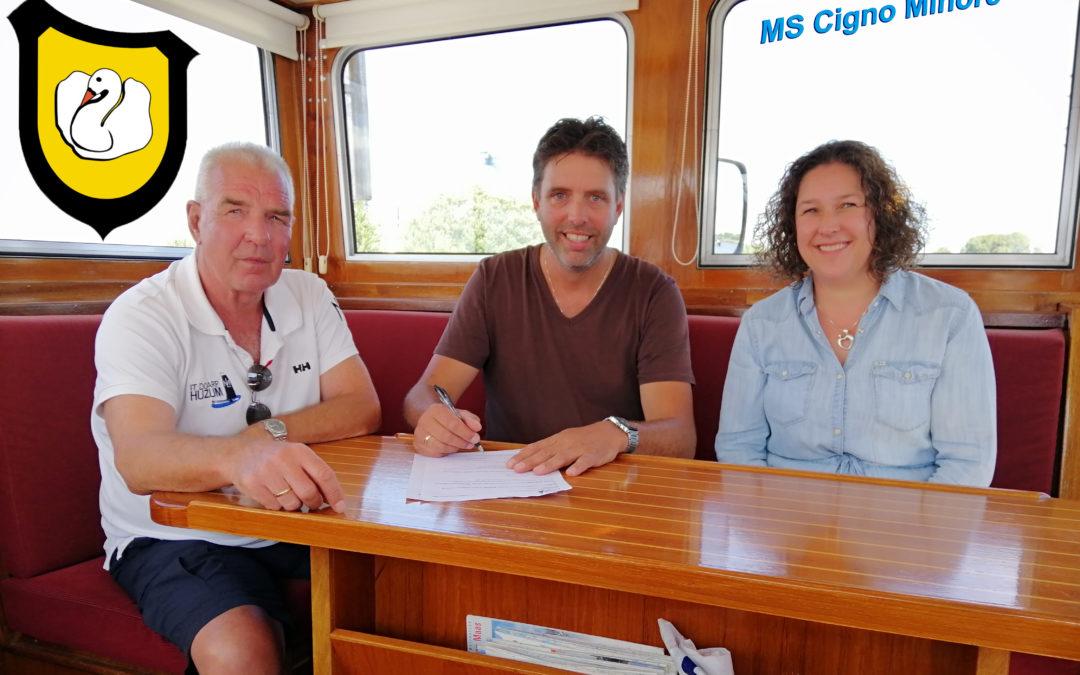 MS Cigno Minore nieuwe sponsor!