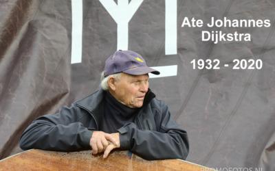 Ate Dijkstra overleden