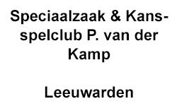 Speciaalzaak & Kansspelclub P. van der Kamp